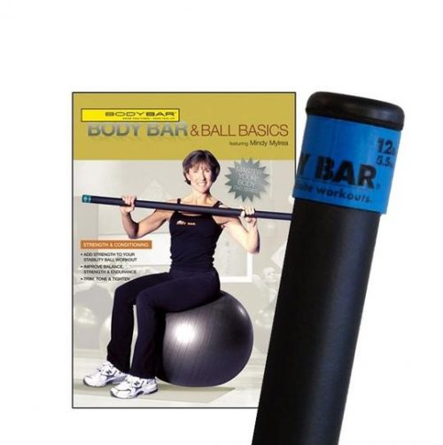 Body Bar K-PD-BB12PlusDVD-BBBB Body Bar And Ball Basics DVD