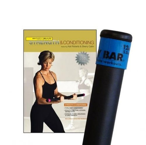Body Bar K-PD-BB12PlusDVD-SC Strength & Conditioning DVD