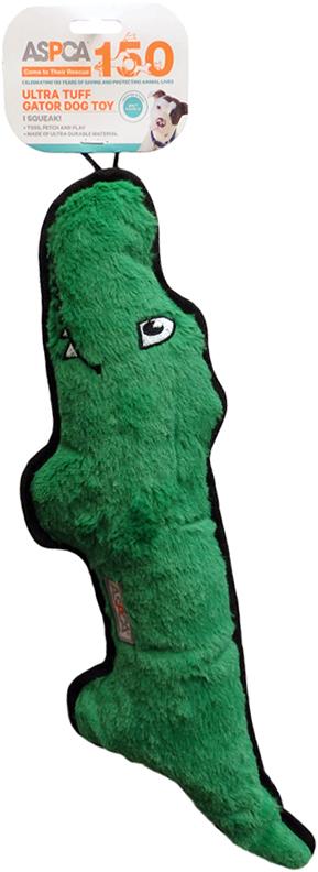 Bow Wow Pet AS11121-GREEN Green Ultra Tuff Gator Pet Toy