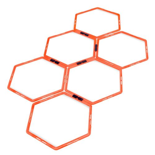 Brybelly SFIT-1205 Hexagon Agility Ladder Set