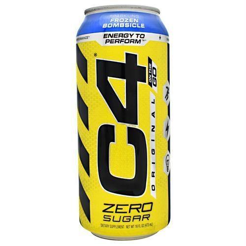 Cellucor 6550707 16 oz Original C4 on The Go Sparkling Frozen Bombsicle - 12 Per Case
