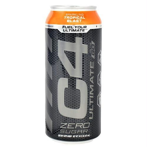 Cellucor 6550712 16 oz Original C4 on The Go Sparking Tropical Blast - 12 Per Case