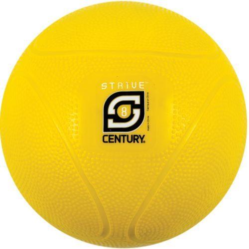 Century 24942P-200808 8 lbs Strive Medicine Ball - Yellow