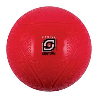 Century 24942P-900812 12 lbs Strive Medicine Ball - Red