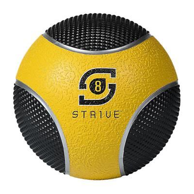 Century 24951P-012808 8 lbs Strive Power Grip Ball - Yellow