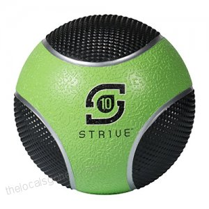 Century 24951P-015810 10 lbs Strive Power Grip Ball - Green
