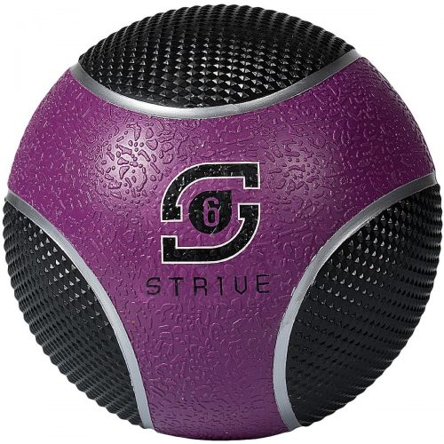 Century 24951P-017806 6 lbs Strive Power Grip Ball - Purple