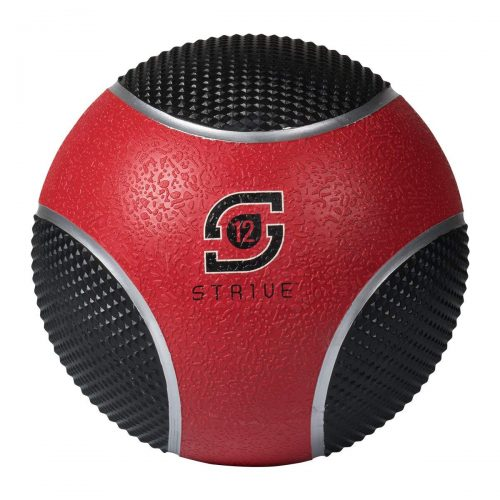 Century 24951P-019812 12 lbs Strive Power Grip Ball - Red