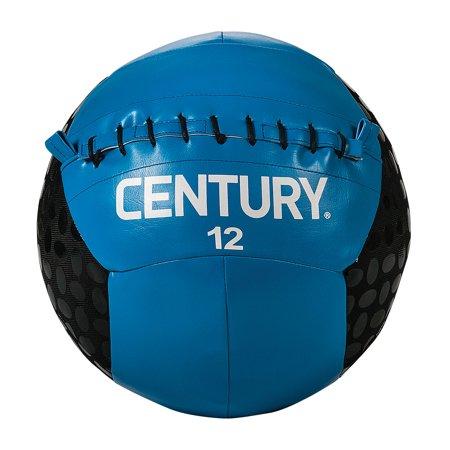 Century 2498P-601812 12 lbs Challenge Grip Ball - Blue