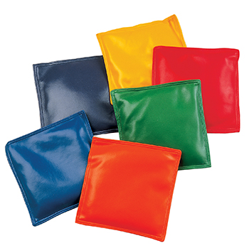 Champion Sports CHSMBB6 Bean Bags 6In Bean Bag 12-Set