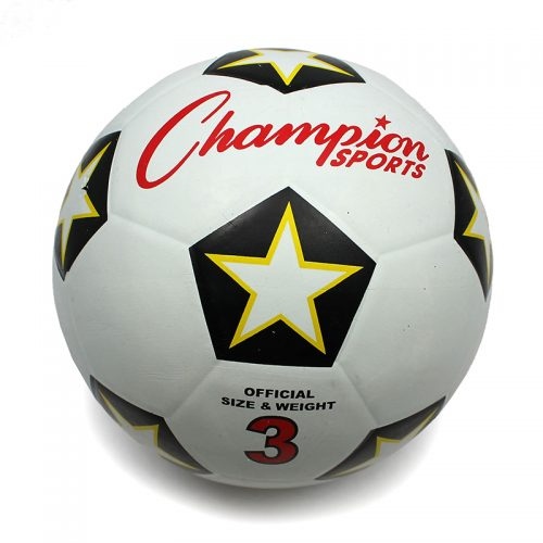 Champion Sports CHSSRB3BN No.3 Champion Soccer Ball