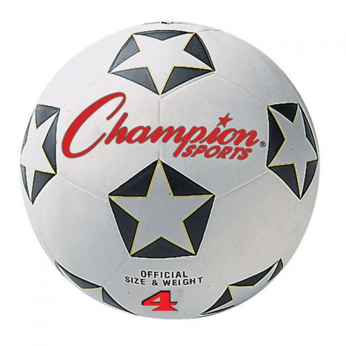 Champion Sports CHSSRB4BN No.4 Champion Soccer Ball