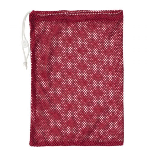 Champion Sports MB18RD 12 x 18 in. Mesh Equipment Bag Red