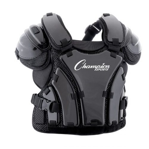 Champion Sports P230 16 in. Armor Style Chest Protector Black