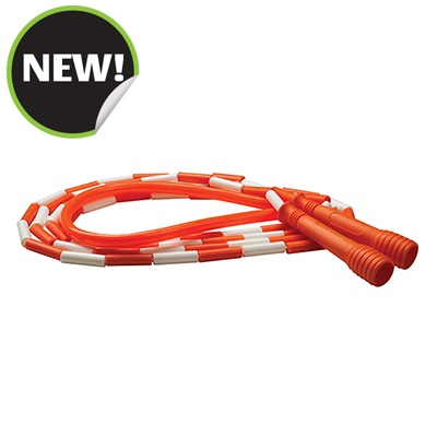 Champion Sports SJ10 10 ft. Deluxe XU Beaded Jump Rope Orange