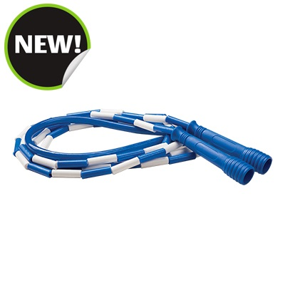 Champion Sports SJ9 9 ft. Deluxe XU Beaded Jump Rope Blue