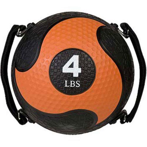 Champion Sports SMD4 4 lbs Rhino Ultra Grip Medicine Ball Orange