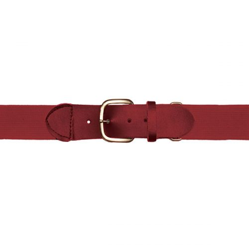 Champion Sports UBCD Adult Baseball & Softball Uniform Belt Cardinal