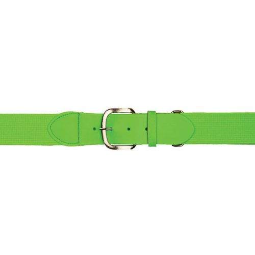 Champion Sports UBYNGN Youth Baseball & Softball Uniform Belt Neon Green