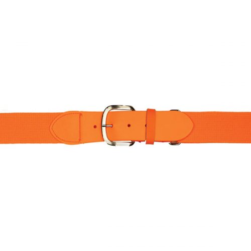 Champion Sports UBYNOR Youth Baseball & Softball Uniform Belt Neon Orange