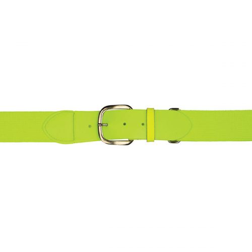Champion Sports UBYNYL Youth Baseball & Softball Uniform Belt Neon Yellow