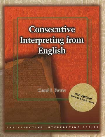 Cicso Independent BDVD185 Effective Interpreting - Consecutive Interpreting from English Study Set