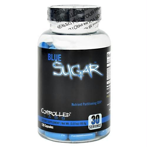 Controlled Labs 3770131 Blue Sugar 120 Capsules