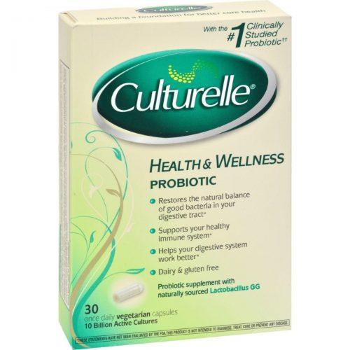 Culturelle HG0720458 Probiotic - 30 Vegetable Capsules