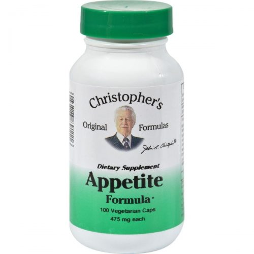 Dr. Christophers Formulas HG0611590 475 mg Appetite Formula 100 Vegetarian Capsules