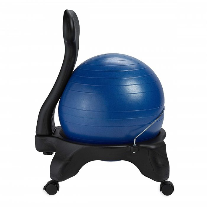Gaiam 558865 52 Cm Classic Balance Ball Chair Blue