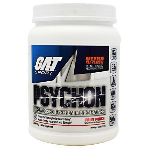 Gat Sport 370157 Psychon Fruit Punch - 20 Servings