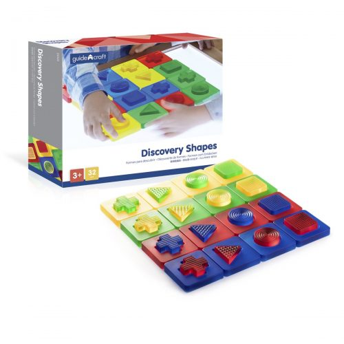 Guidecraft Z1520 Discovery Shapes - 3 Plus Age - 32 Pieces