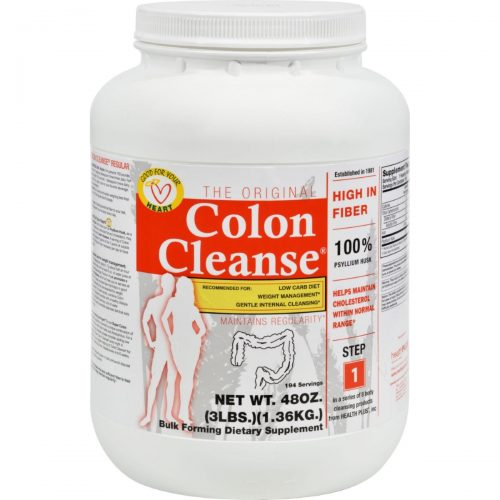 Health Plus HG0779389 48 oz the Original Colon Cleanse 3 lbs