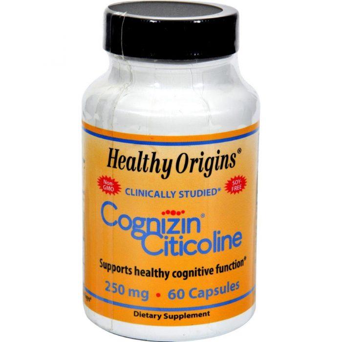 Healthy Origins HG0579359 250 mg Cognizin Citicoline 60 Capsules