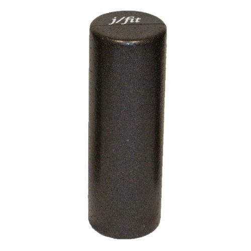 J-fit 20-0619 Black High Density Foam Roller - 18 in.