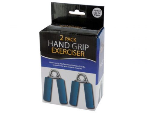Kole Imports OS960-8 5 x 3.25 in. Hand Grip Exerciser Set 2 Piece - Pack of 8