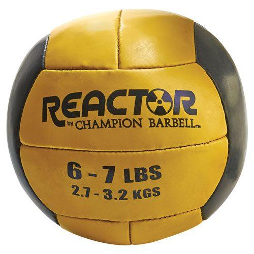 Konika Exports 1377214 19 - 20 lbs Medicine Ball Yellow