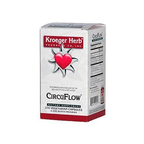 Kroeger Herb HG0419929 Circuflow - 270 Capsules