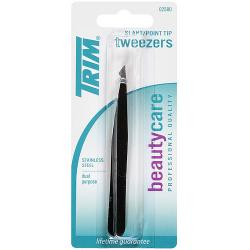 Merchandise 0218774 Trim Beauty Care Slant & Point Tip Tweezers