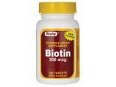Merchandise 1893157 Rugby Biotin 300 mg 100 Tablets