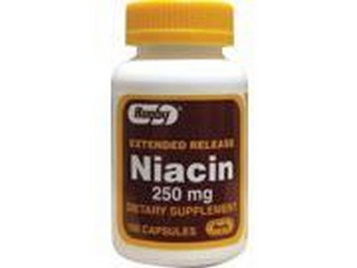 Merchandise 1893440 Rugby Extended Release Niacin 250 mg 100 Capsule
