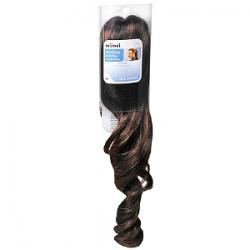 Merchandise 7264321 Scunci Fauz Hair Curl Dark Brown