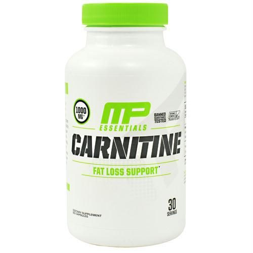 Muscle Pharm 4820236 Essentials Carnitine 60 Capsules