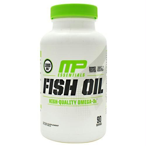 Muscle Pharm 4820238 Essentials Fish Oil 90 Softgels