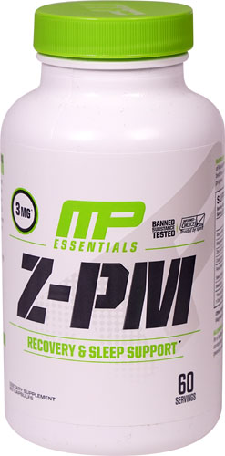 Muscle Pharm 4820239 Z Core PM Essentials 60 Capsules