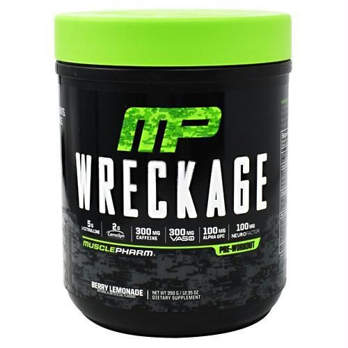 Muscle Pharm 4820244 Wreckage Berry Lemonade - 25 Servings