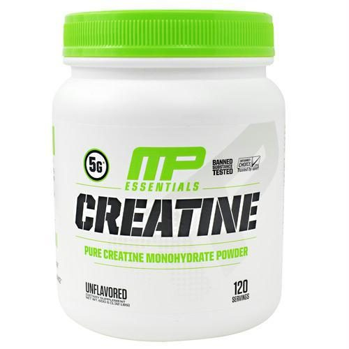 Muscle Pharm 4820248 600 g Essentials Creatine Unflavored - 120 Servings