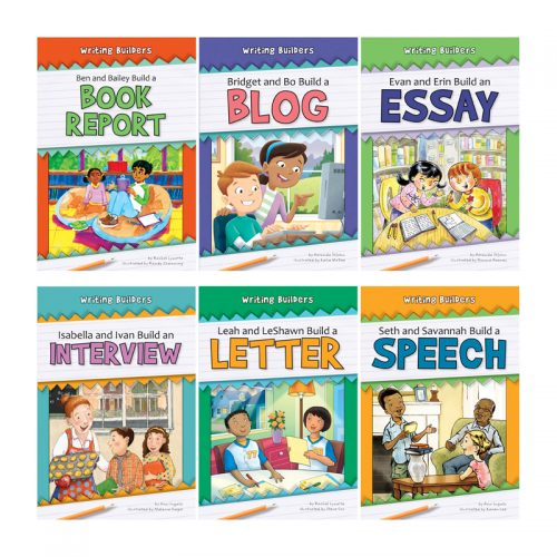 Norwood House Press NW-WBPB1 Writing Builders 6 Book Set