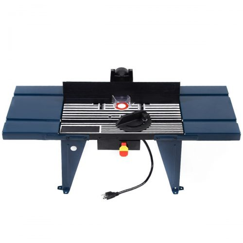 Online Gym Shop CB17189 Electric Aluminum Router Table Wood Working Craftsman Tool Benchtop