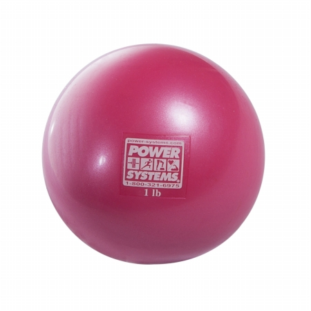 Power Systems 26156 6 lbs Soft Touch Medicine Ball